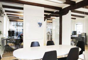 Kontor med fælles faciliteter i Aarhus